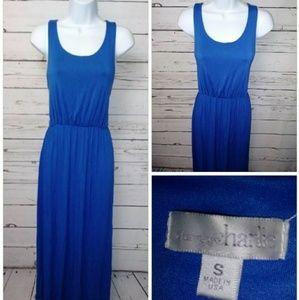 Charming Charlie long blue Maxi dress